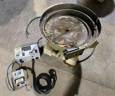 Parts Feeders Inc B 18 Vibratory Feeder Bowl Withrodix Feeder Cube Bowl Control