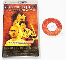 Crouching Tiger Hidden Dragon UMD Movie, 2005 - Sony PSP Video Martial Arts