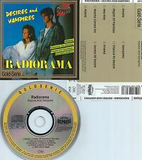 RADIORAMA-DESIRES AND VAMPIRES-1987-GERMANY-ARIOLA EXPRESS 297 078-CD-MINT-