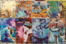 PROJECT SUPERPOWERS #0-7 Negative Art Variant Covers Set 2008 Dynamite NM
