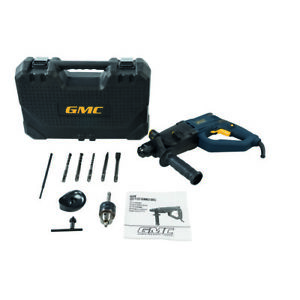 GMC 800W SDS Plus Hammer Drill With Case and Accessories 3 Year Guarantee