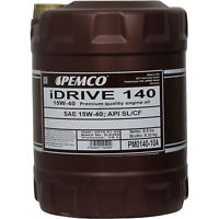 Original Pemco 1 x10 Liter Motoröl 15W-40 iDRIVE Universal PM140-10