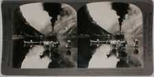 Keystone Stereoview of Gudvangen's Outlook, NORWAY from the 1920's 200 Card Set