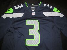 Russell Wilson Seattle Seahawks Navy Nike On Field Jersey Men M