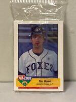 "ALEX RODRIGUEZ  * 1994 FLEER PRO CARDS ""APPLETON FOXES"" MINOR LEAGUE SEALED SET"