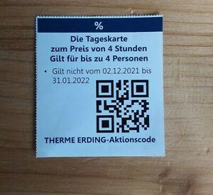 Gutschein aus Gutscheinbuch für Therme Erding maximaler Sparwert 60 €