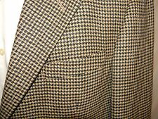Nautica 3 Button Blazer 100% Lambswool Notched Lapels Flap Pockets 42