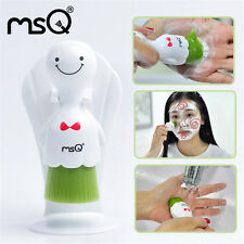 MSQ Face Cleanser Deep Clean Facial Washing Brush Skin Care Soft Brush With Box