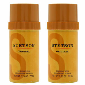 (2 Pack) New Stetson Stick Deodorant by Stetson, 2.75 Fluid Ounce