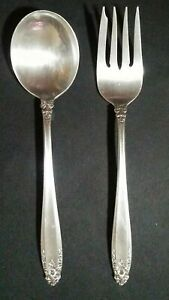 Prelude by International Silver Co. Salad Fork and Soup Spoon