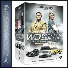 WHEELER DEALERS - THE COMPLETE COLLECTION  **BRAND NEW DVD BOXSET ***