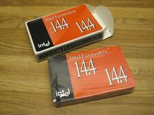 Vintage INTEL Faxmodem Data 14.4 Playing Cards Deck Sealed Bridge Size