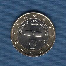 Chypre - 2010 - 1 euro - Pièce neuve de rouleau -