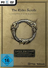 The Elder Scrolls Online - Gold Edition (PC/Mac, 2016, DVD-Box)