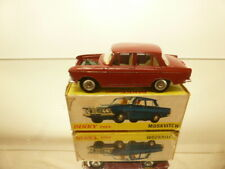DINKY TOYS 1410 MOSKVITCH 408 - BRICK RED 1:43 - GOOD CONDITION IN BOX