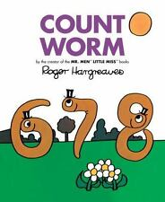 Count Worm by Roger Hargreaves (2017, Hardcover)