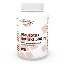 Vita World Pleurotus ostreatus estratto 4:1 500mg 100 vegi capsule Vital FUNGO