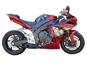 Yamaha R1 2009-2014 Exhaust Muffler CS Racing Deep Sound!