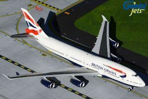 British Airways Boeing 747-400 G-CIVN Current 1/200 Scale diecast Gemini 200