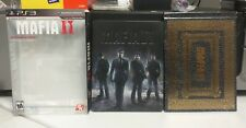Mafia II Collector's Edition Steelbook & Artbook (Sony PlayStation 3, 2010) PS3