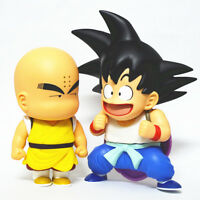 HOT Anime Dragon Ball Z Young Son Goku Krillin Cute Action Figure Toy For Kids