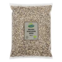 Organic Sunflower Seeds 1kg Certified Organic