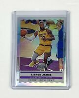 Lebron James 2019-20 Panini Contenders Optic Front Row Seat Silver Prizm