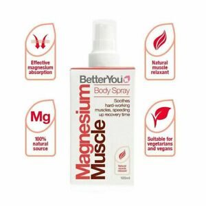 zBetterYou Magnesium Muscle Body Spray 100ml