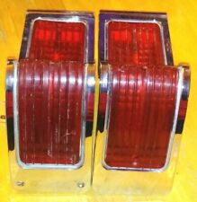 1965 AMC Rambler Classic Sedan Station Wagon Rear Tail Lights W/Lens RH & LH OEM