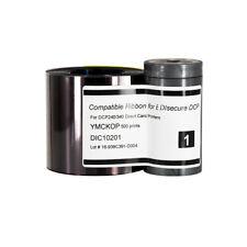 YMCKK Ribbon for Datacard SR200 SR300 RP90 568971-002  Printer 500 Image Prints