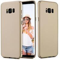 Samsung Galaxy S7 Edge Hülle Tasche Case Cover Handy Backcover Handyhülle Gold