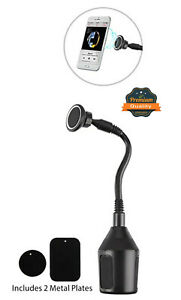 Universal Magnetic Cup Holder Mount Car 360 Cradle Magnetic Stand Long Gooseneck