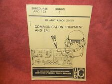 IPD The Army Institute Profess Devel COMMUNICATION EQUIPMENT & EMI ARO 122 #414