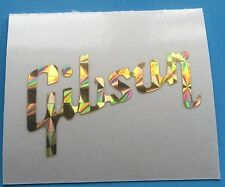 1 X PERLOID GOLD or RED Guitar Headstock decal,sticker Gibson.....NEW