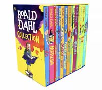Roald Dahl 15 Books Children Collection Gift Pack Box Set Paperback