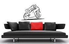 Wall Sticker Vinyl Decal Motorcycle Sport Road Racing ig1268