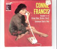 CONNIE FRANCIS - Breakin´ in a brand new broken heart