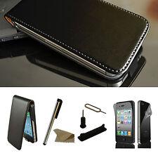 iPhone 4/4S Handy Tasche Case Cover Handytasche Schutz Hülle Etui Bumper Folie 2