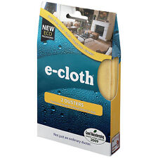 e-cloth Dusters Cleaning Cloths - 2 Cloths - FREE P&P