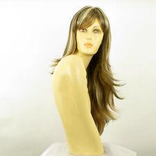 Perruque femme longue méchée blond clair méché cuivré chocolat AGNA 15613H4