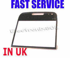 Screen Lens Front LCD Cover For Nokia E72 E 72 Black UK
