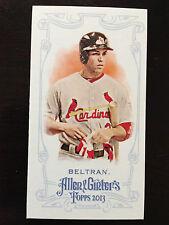 2013 Topps Allen & Ginter Mini Carlos Beltran Cardinals 235