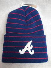 Atlanta Braves MLB Genuine Merchandise 125 Anniversary Stockings Beanie Hat