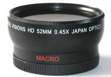 52mm Digital Wide Angle Lens For Panasonic Lumix DMC-G6K DMC-GF6 DMC-GX7 DMC-GF1