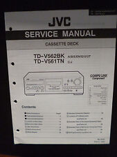 Original Service Manual  JVC TD-V562BK TD-V561TN