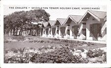 Morecambe. Middleton Tower Holiday Camp. The Chalets by Valentine.