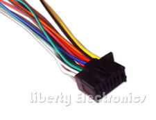 New 16 Pin AUTO STEREO WIRE HARNESS for KENWOOD KDC-BT568U Player