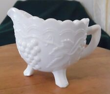 Footed Creamer in Grape Milkglass by Imperial Glass Ohio