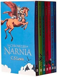 Boxed set: C. S. Lewis The Chronicles of Narnia 7 Books Collection Set