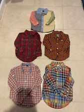 8c9820ef Lot Set Of 5 Baby Gap Boy Button Down Shirts Bears Size 18-24 Months